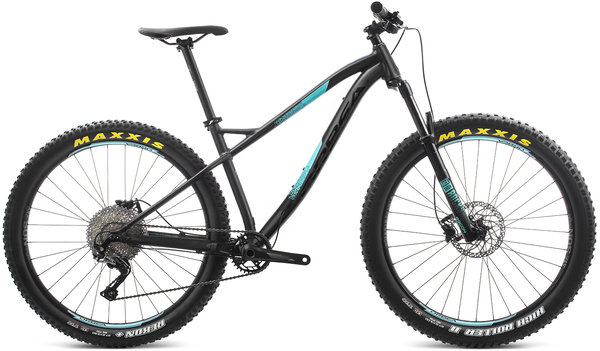 Orbea Laufey 27+ H30 Color: Black-Turquoise