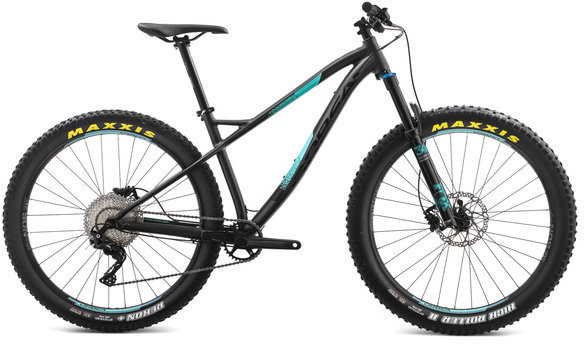 Orbea Loki 27+ H10 Color: Black/Turquoise