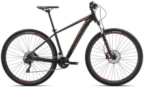 Orbea MX 20 Color: Black/Orange