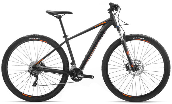 Orbea MX 10 Color: Black-Orange
