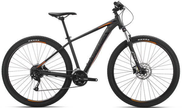 Orbea MX 40 Color: Black-Orange