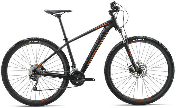 Orbea MX 40 Color: Black/Orange
