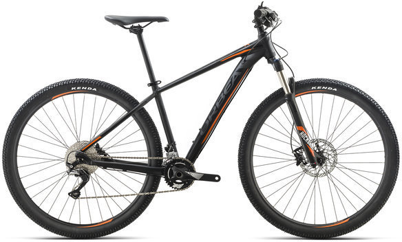 Orbea MX Max Color: Black/Orange