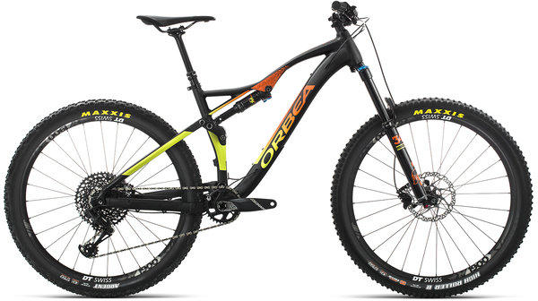 Orbea Occam AM H10 Color: Black-Orange-Pistachio