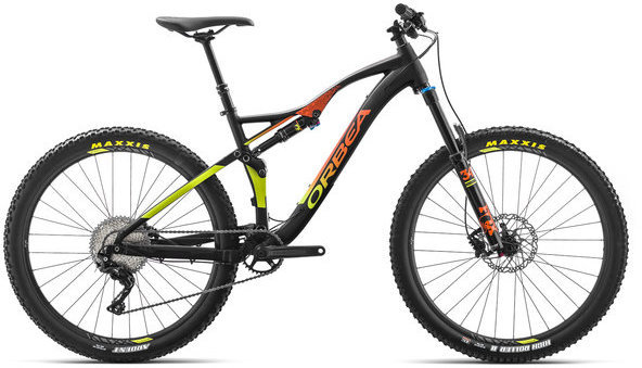 Orbea Occam AM H30 Color: Black/Orange/Pistachio