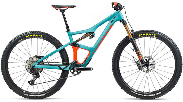 Orbea Occam M10 Color: Blue/Orange