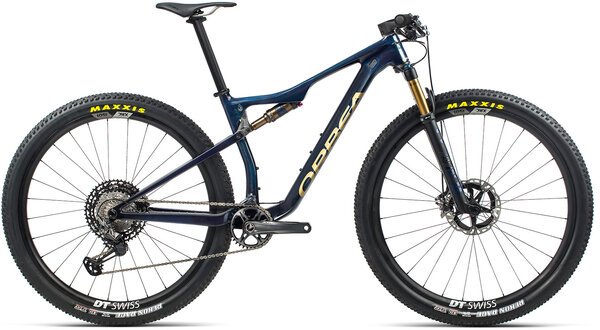 Orbea Oiz M Team Color: Carbon Blue/Gold