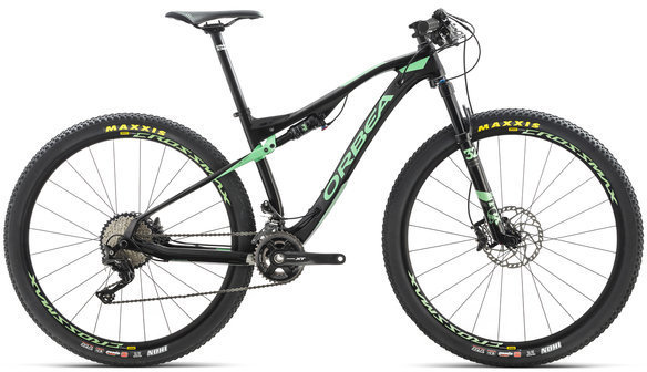 Orbea Oiz M30-XT Color: Black/Mint