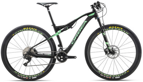 Orbea Oiz M50 Color: Black/Mint