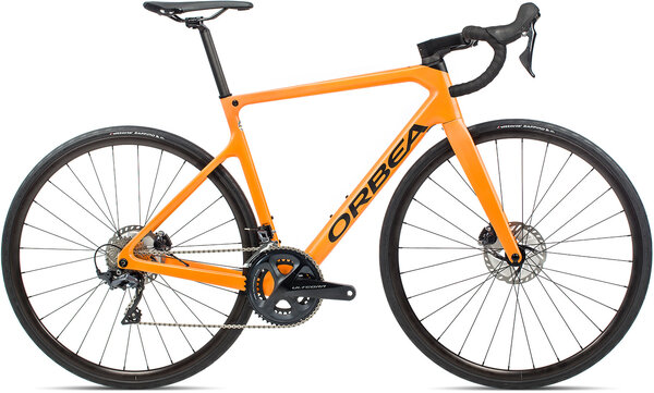 Orbea Orca M20 Color: Metallic Electric Orange/Black