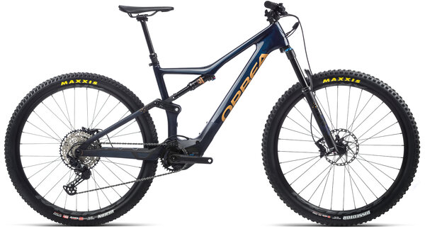 Orbea RISE M20 20mph Color: Coal Blue/Red Gold