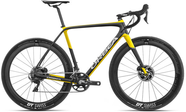 Orbea Terra M10-D Color: Anthracite-Yellow