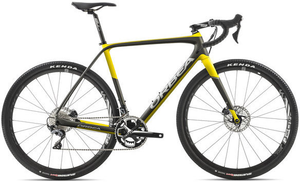 Orbea Terra M20-D Color: Anthracite/Yellow
