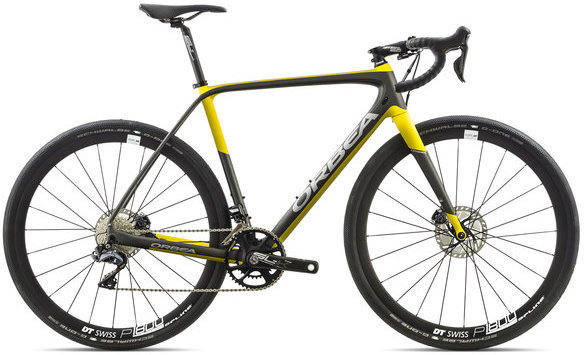 Orbea Terra M20i-D Color: Anthracite/Yellow
