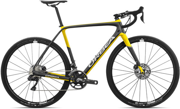 Orbea Terra M20i-D Color: Anthracite-Yellow
