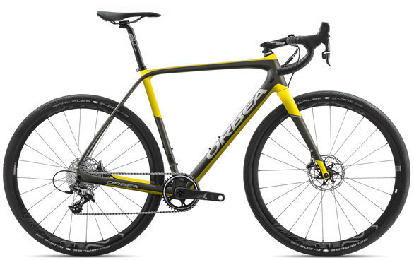 Orbea Terra M21-D Color: Anthracite/Yellow
