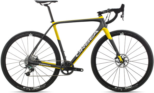 Orbea Terra M21-D Color: Anthracite-Yellow