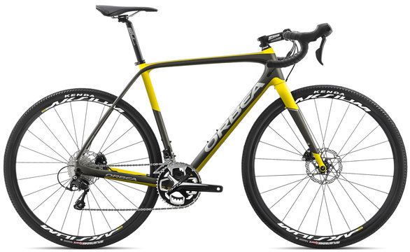 Orbea Terra M30-D Color: Anthracite/Yellow