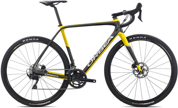 Orbea Terra M30-D Color: Anthracite-Yellow