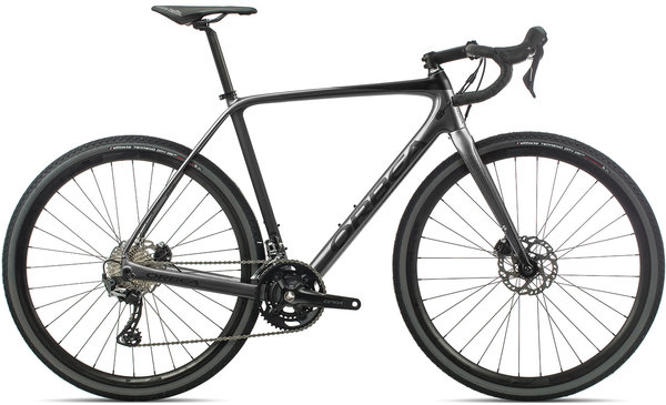 Orbea Terra M30-D Color: Anthracite/Black
