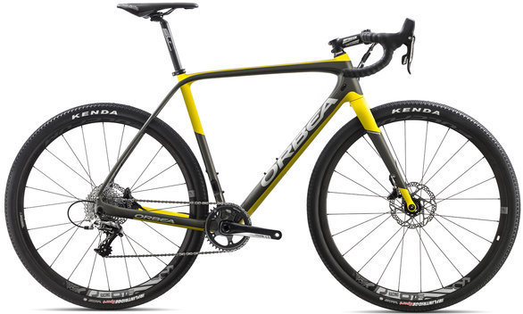 Orbea Terra M31-D Color: Anthracite/Yellow