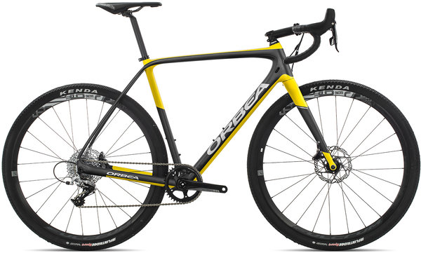 Orbea Terra M31-D Color: Anthracite-Yellow