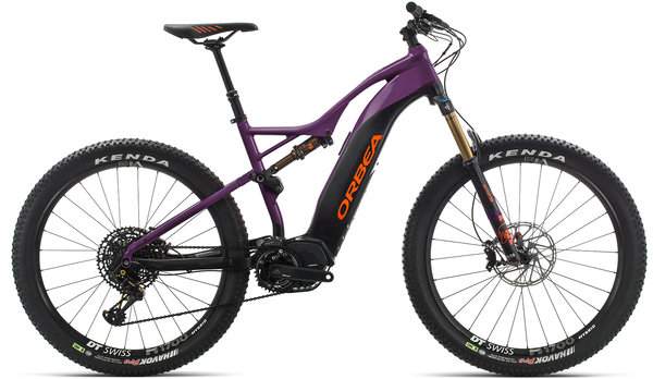 Orbea Wild FS 10 27S USA Color: Purple-Black