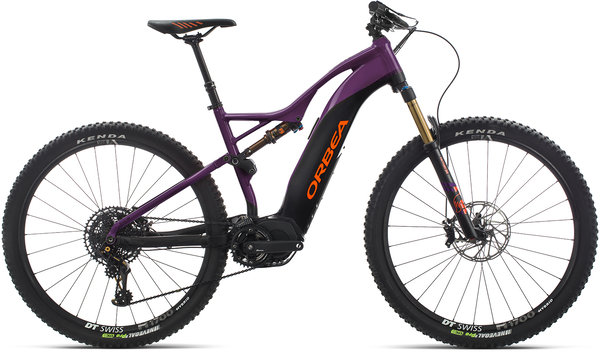 Orbea Wild FS 10 29S USA Color: Purple-Black