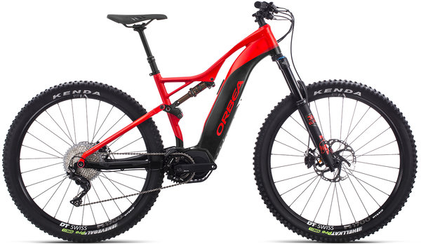 Orbea Wild FS 150 20 29S USA Color: Red-Black