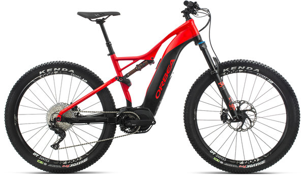 Orbea Wild FS 20 27S USA Color: Red-Black