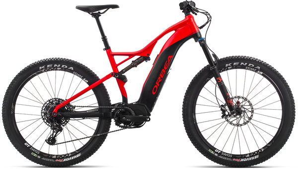 Orbea Wild FS 30 27S USA Color: Red-Black