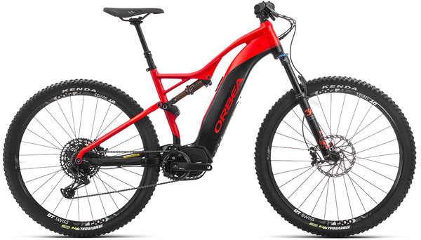Orbea Wild FS 30 29S USA Color: Red-Black
