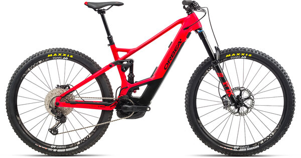 Orbea Wild FS H10 Color: Bright Red/Black