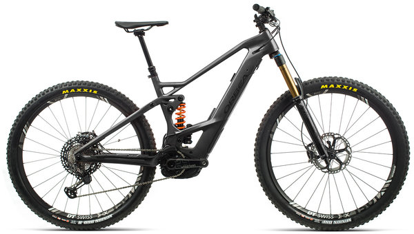 Orbea Wild FS M20 20mph Color: Anthracite/Black