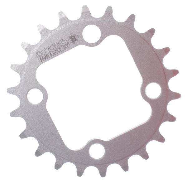 Origin8 Alloy Blade Chainring 22-Tooth - 64 BCD/4-Bolt