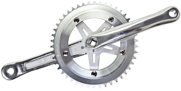 Origin8 Classic Sport Single Crankset - 130mm BCD/5-Bolt