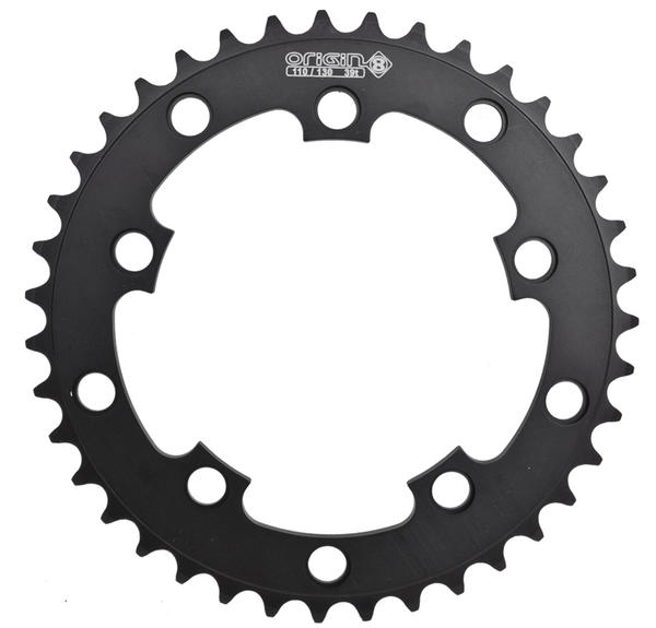 Origin8 BMX/SS/FIXIE Chainring - 3/32-Inch/110/130 BCD Color: Black