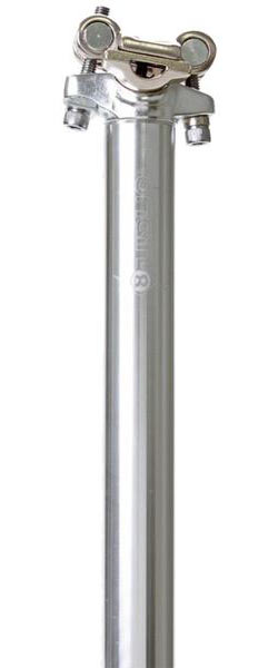 Origin8 Pro Fit Alloy Seat Post Color: Silver