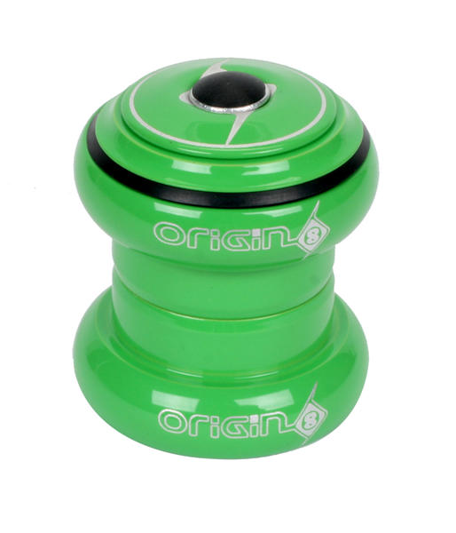 Origin8 SSR Threadless Headset Color: Green Powdercoat