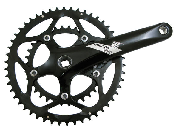Origin8 Pro Pulsion Road Crankset - 110mm BCD/5-Bolt (50/34)