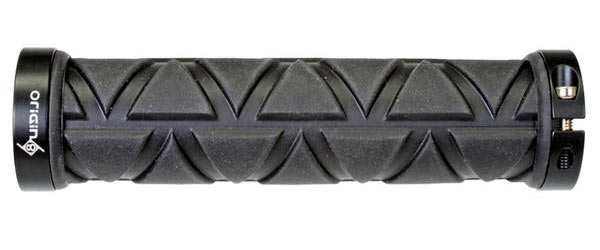 Origin8 Tri-Power Locking Grips Color: Black