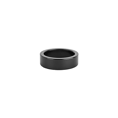 Origin8 Alloy Headset Spacers 10mm - Jar of 20 Color | Size | Steerer Diameter: Black | 10mm | 1-1/8-inch