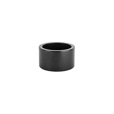 Origin8 Alloy Headset Spacers 20mm - Jar of 10 Color | Size | Steerer Diameter: Black | 20mm | 1-1/8-inch