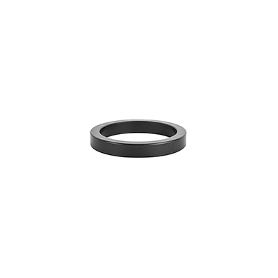 Origin8 Alloy Headset Spacers 5mm - Jar of 40 Color | Size | Steerer Diameter: Black | 5mm | 1-1/8-inch