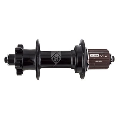 Origin8 FB-1110 Elite Fat Bike Rear Hub Axle | Cassette Compatibility | Hole Count: 170mm QR | Shimano/SRAM 8-11s | 32-hole