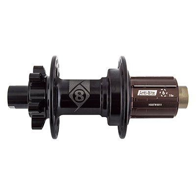 Origin8 MT-1110 Elite MTB Rear Hub Axle | Cassette Compatibility | Hole Count | Model: 142 x 12mm | Shimano/SRAM 8-11s | 32-hole | J-Bend Spoke