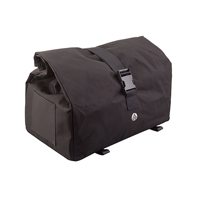 Origin8 Rush Messenger Flat Rack Pack Color: Black