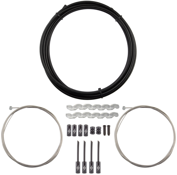Origin8 Slick Compressionless MTB Brake Cable/Housing Kit