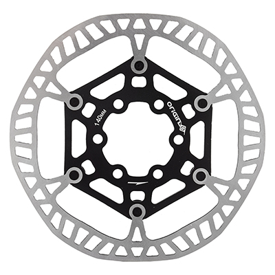 Origin8 SpeedCheck Two-Piece Disc Rotors Color: Black