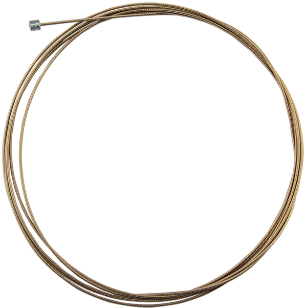 Origin8 SS SuperSlick Electrolysis Gear Cable Color: Gold